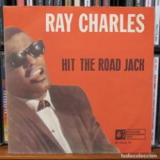 Discos de vinilo: RAY CHARLES EP HIT THE ROAD JACK MADE IN YUGOSLAVIA. Lote 208982370