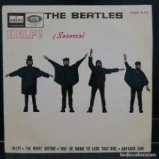 Discos de vinilo: THE BEATLES EP HELP SOCORRO 1965. Lote 208984687
