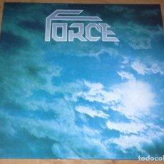 Discos de vinilo: FORCE LP SPANISH HEAVY 1989 -GOLIATH-PANZER--ACRACIA-DAMA FEUDAL (COMPRA MINIMA 15 EUR. Lote 208985378