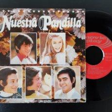 Discos de vinilo: LA PANDILLA. NUESTRA PANDILLA. WITHOUT YOU 1973. MOVIE PLAY.. Lote 208996438