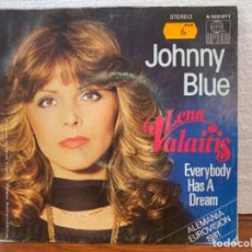 Discos de vinilo: JOHNNY BLUE. Lote 208998483