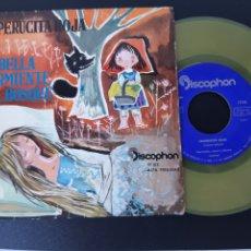 Discos de vinilo: CAPERUCITA ROJA.LA BELLA DURMIENTE. DISCOPHON. 1960.. Lote 209002225