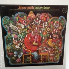 Discos de vinilo: JIMMY SMITH- GROOVE DROPS - SPAIN LP - EXC. ESTADO.. Lote 209009795