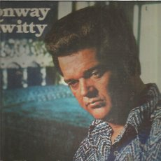 Discos de vinilo: CONWAY TWITTY NOT THROUGH. Lote 209011075
