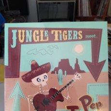 Discos de vinilo: JUNGLE TIGERSMEETPEP TORRES–JUNGLE TIGERS MEET PEP TORRES . VINILO 10 PULGADAS . PRECINTADO. Lote 209011572
