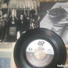 Discos de vinilo: CRUCE DE CAMINOS. EP 45 RPM. BOULEVARD DEL ATARDECER + 3. (EL COHETE 1992) OG ESPAÑA XIXON TRISQUEL. Lote 209011952