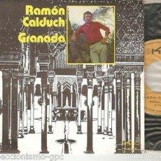 "Discos de vinilo: RAMON CALDUCH 7"" SPAIN 45 GRANADA + VALENCIA SINGLE VINILO ORIGINAL 1972 EKIPO EXCELENTE ESTADO MIRA. Lote 209031326"