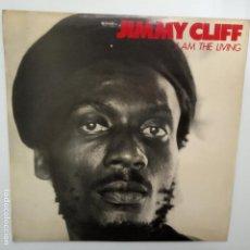 Disques de vinyle: JIMMY CLIFF- I AM THE LIVING - SPAIN LP 1980 + ENCARTE.. Lote 209039865