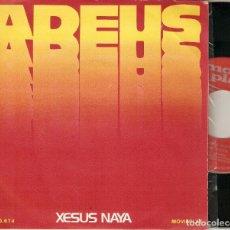 """Discos de vinilo: XESUS NAYA 7"""" SPAIN 45 ADEUS + CANTIGAS SINGLE VINILO ORIGINAL 1972 MOVIEPLAY FOLK MUY BUEN ESTADO !. Lote 209043972"""