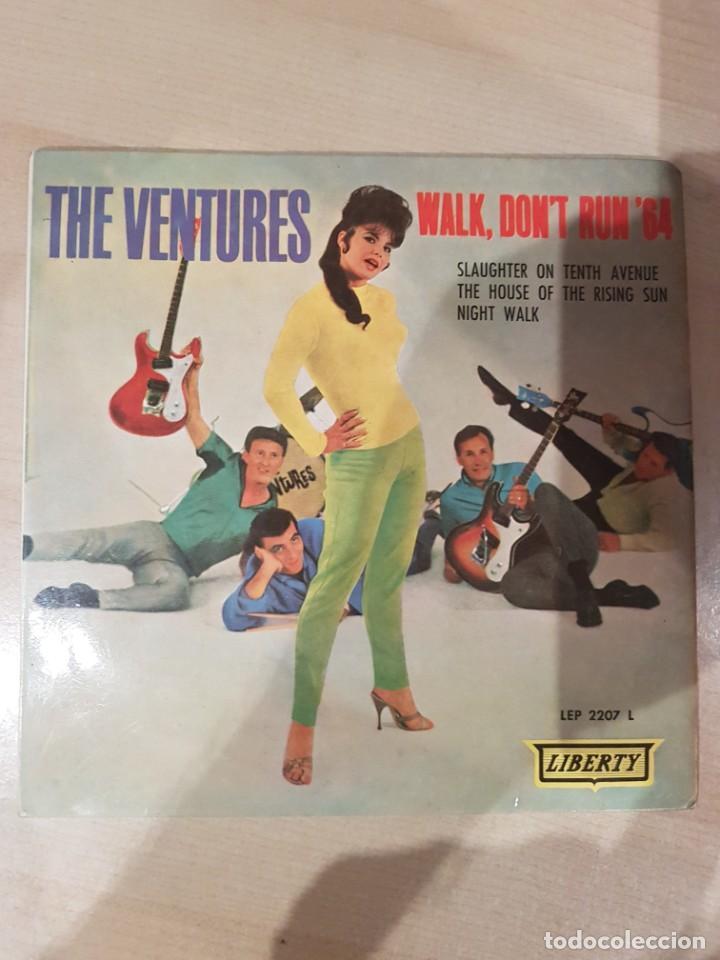 THE VENTURES 1965 EP WALK, DON'T RUN '64 (Música - Discos - LP Vinilo - Bandas Sonoras y Música de Actores )