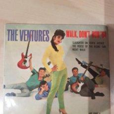 Discos de vinilo: THE VENTURES 1965 EP WALK, DON'T RUN '64. Lote 209044196