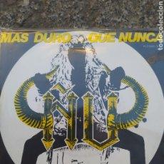 Discos de vinilo: ÑU - MÁS DURO QUE NUNCA. SINGLE VINILO. BUEN ESTADO. Lote 209050160