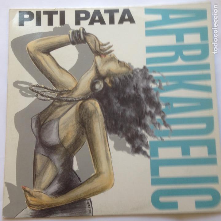 AFRIKADELIC - PITI PATA - MAXI 1990 (Música - Discos de Vinilo - Maxi Singles - Techno, Trance y House)