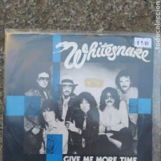Discos de vinilo: WHITESNAKE. GIVE NO MORE. SINGLE VINILO BUEN ESTADO. Lote 209052230