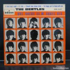Discos de vinilo: THE BEATLES EP QUE NOCHE LA DE AQUEL DIA 1964. Lote 209055628