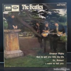 Discos de vinilo: THE BEATLES EP ELEANOR RIGBY 1966. Lote 209058155