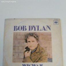 Discos de vinilo: BOB DYLAN WIGWAM / CALDERA DE COBRE ( 1970 CBS ESPAÑA ). Lote 209066901
