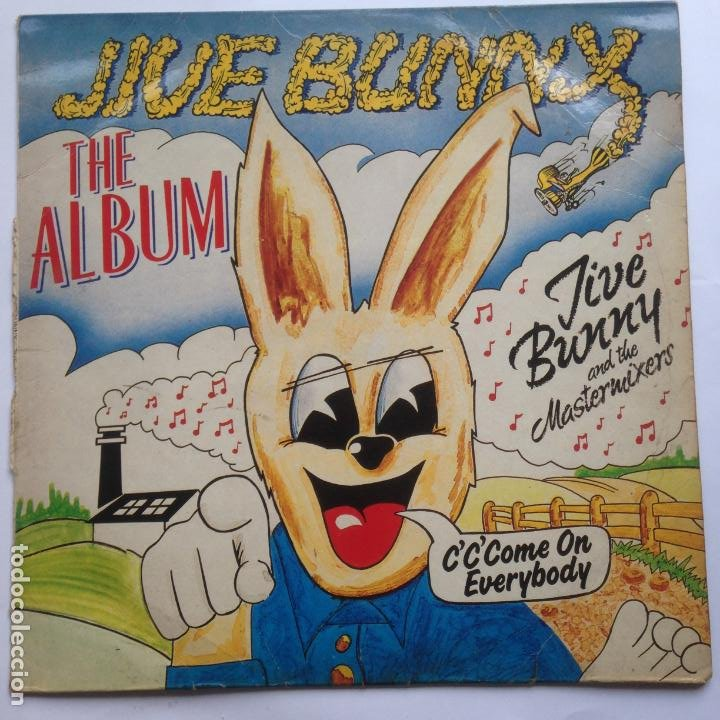JIVE BUNNY AND THE MASTERMIXES - THE ALBUM (Música - Discos - LP Vinilo - Pop - Rock - New Wave Extranjero de los 80)