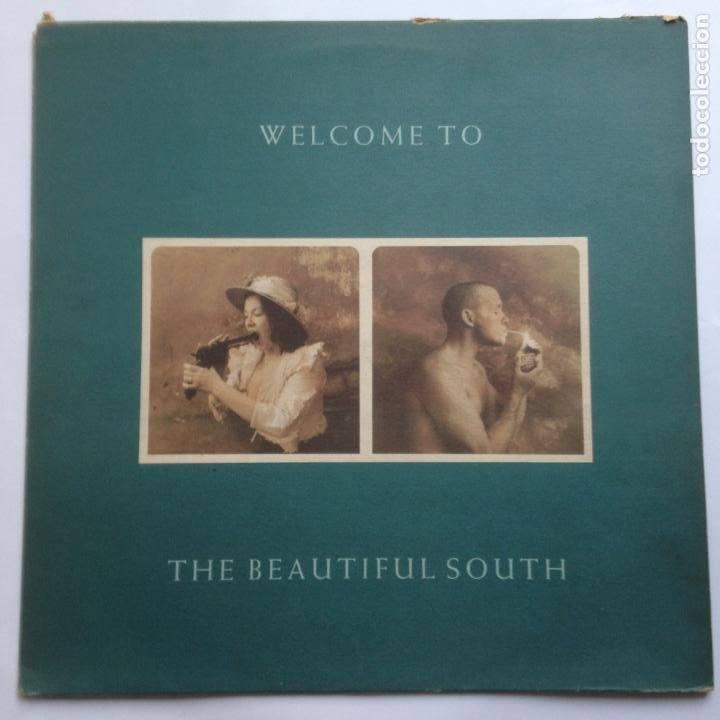 THE BEAUTIFUL SOUTH ?– WELCOME TO THE BEAUTIFUL SOUTH - LP 1989 (Música - Discos - LP Vinilo - Pop - Rock - New Wave Extranjero de los 80)