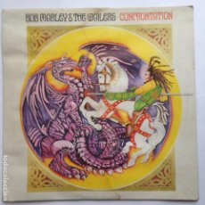 Discos de vinilo: BOB MARLEY & THE WAILERS – CONFRONTATION- TUFF GONG – ILPS 9760. Lote 209086547
