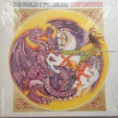 Discos de vinilo: BOB MARLEY & THE WAILERS – CONFRONTATION - TUFF GONG – 548 903-1- SEALED . PRECINTADO. Lote 209086780