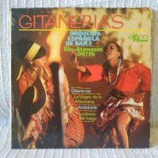 Discos de vinilo: ORQUESTA ESPAÑOLA DE BAILE DIR.: ATANASIO ORTIN - GITANERÍAS + 3 - EP SPAIN EKIPO 66.209-C AÑO 1969. Lote 209091365