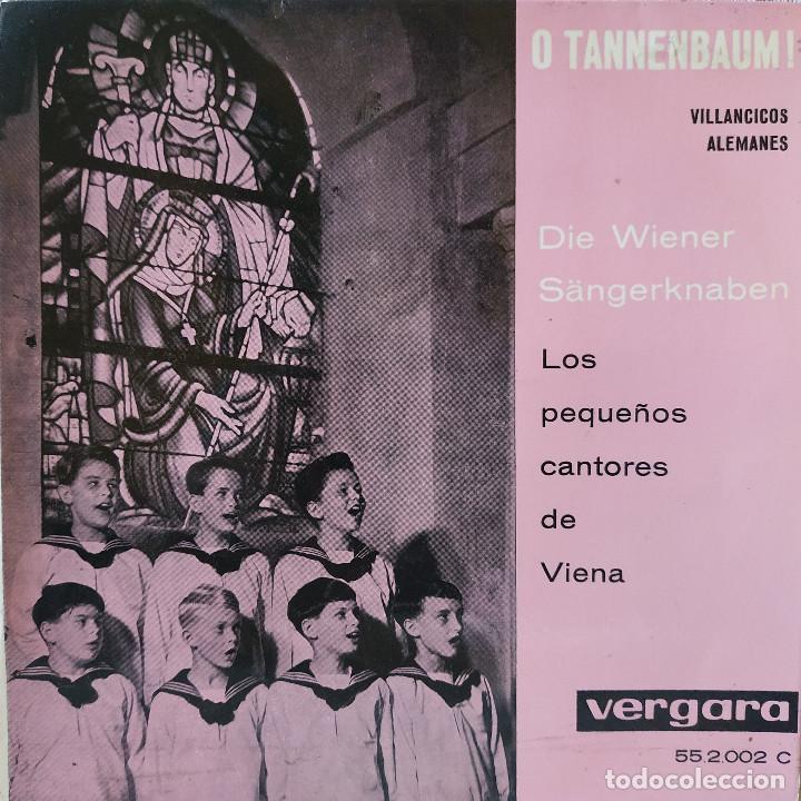 LOS PEQUEÑOS CANTORES DE VIENA - VILLANCICOS ALEMANES - EP SELLO VERGARA DE 1961 COMO NUEVO (Música - Discos de Vinilo - EPs - Otros estilos)