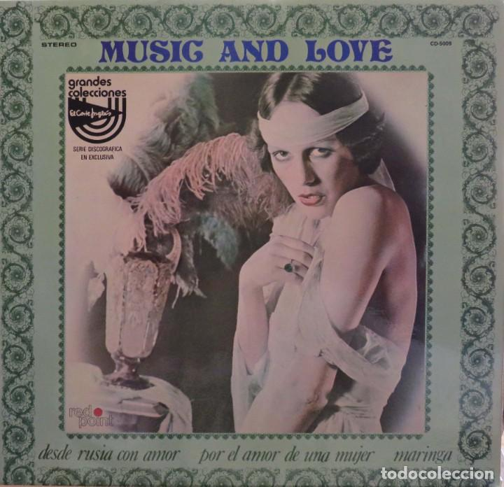 RALPH FINGERS Y SU ORQUESTA MUSIC AND LOVE GRANDES COLECCIONES DEL CORTE INGLES RED POINT 1976 (Música - Discos - LP Vinilo - Orquestas)
