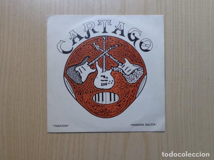 CARTAGO 'TRAICION' (Música - Discos - Singles Vinilo - Heavy - Metal)