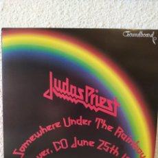 Discos de vinilo: JUDAS PRIEST-SOMEWHERE UNDER THE RAINBOW: DENVER, CO JUNE 25TH 1980-LP VINILO NUEVO DE COLOR MORADO. Lote 221410757