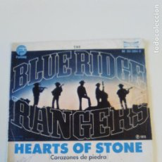 Discos de vinilo: BLUE RIDGE RANGERS HEARTS OF STONE / SOMEWHERE LISTENING ( 1973 MARFER SP ) JOHN FOGERTY CREEDENCE. Lote 209126370