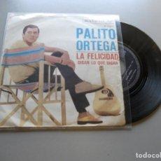 Dischi in vinile: PALITO ORTEGA *LA FELICIDAD* SINGLE 1967 VG+/VG+. Lote 209137452