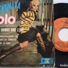 Discos de vinil: ENCARNITA POLO - BALADA DE BONNIE AND CLYDE .EP.+3.. Lote 209146583
