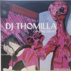 """Discos de vinilo: DJ THOMILLA - GENUINE DRAFT ( GERMANY HIPHOP / ELECTRONIC 3LP ALBUM VINILO [[3LP 12"""" 33RPM] [[1999]]. Lote 209149815"""