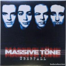 """Discos de vinilo: MASSIVE TÖNE - ÜBERFALL ( GERMANY HIPHOP / RAP 2LP VINILO) [2LP 12"""" 33RPM] [1999]]. Lote 284647298"""