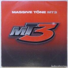 """Discos de vinilo: MASSIVE TÖNE - MT3 ( GERMANY HIPHOP / RAP 2LP VINILO) [2LP 12"""" 33RPM] [2002]]. Lote 284647348"""