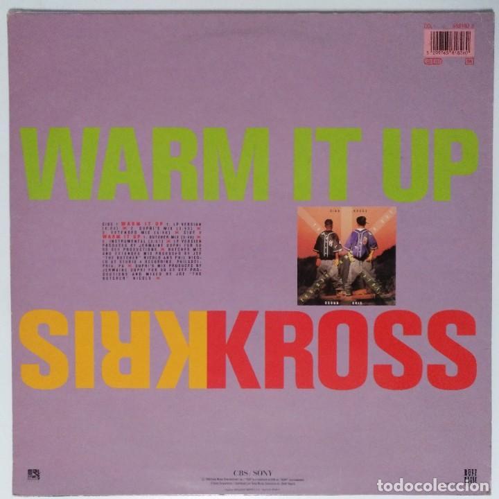 """Discos de vinilo: KRIS KROS - WARM IT UP [ US HIP HOP / RAP EXCLUSIVO ] [[MX 12"""" 45RPM]] [[1992]] - Foto 2 - 209159232"""