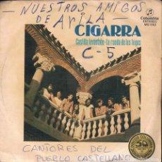 """Discos de vinilo: CIGARRA CASTILLA LEVANTATE / LA RONDA DE LOS HIGOS 7"""" SINGLE 1977 CASTILLA AVILA FOLK. Lote 209161360"""