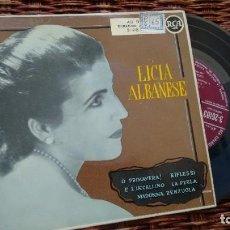 Discos de vinilo: EP ( VINILO) DE LICIA ALBANESE. Lote 209177100