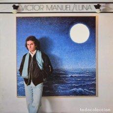 Discos de vinilo: VÍCTOR MANUEL– LUNA - LP SPAIN 1980 + ENCARTE. Lote 209194873