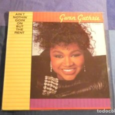 Discos de vinilo: LP R&B GWEN GUTHRIE AIN´T NOTHING GOING ON BUT THE RENT 1986. Lote 209208310