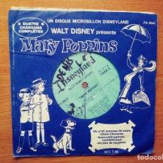 Discos de vinilo: MARY POPINS.DISNEYLAND.SINGLE.CANADA.. Lote 209217030