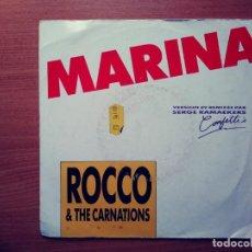 Discos de vinilo: ROCCO & THE CARNATIONS: MARINA. VERSION 89 RMX.. Lote 209254440