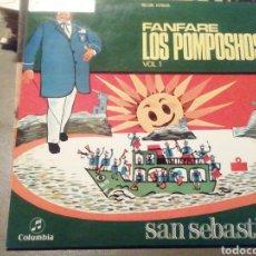 Discos de vinilo: FANFARE LOS POMPOSHOS. VINILO.. Lote 209257013