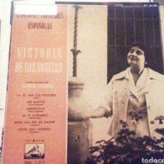 Discos de vinilo: CANCIONES POPULARES ESPAÑOLAS. VICTORIA DE LOS ÁNGELES. VINILO.. Lote 209257197