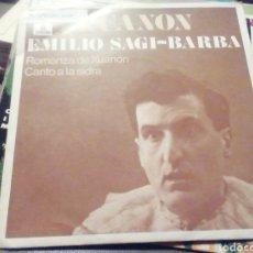 Discos de vinilo: XUANON. EMILIO SAGI BARBA. VINILO.. Lote 209258105