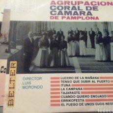 Discos de vinilo: AGRUPACIÓN CORAL DE CÁMARA DE NAVARRA. VINILO.. Lote 209258617