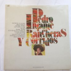 Discos de vinilo: PEDRO INFANTE - RANCHERAS Y CORRIDOS. Lote 209259098