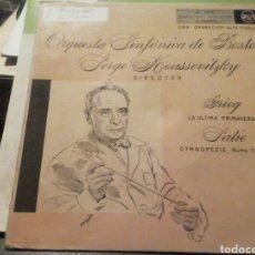 Discos de vinilo: ORQUESTA SINFÓNICA DE BOSTON. VINILO SINGLE.. Lote 209259112