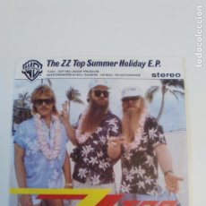 Discos de vinilo: ZZ TOP SUMMER HOLIDAY EP TUSH GOT ME UNDER PRESSURE + 2 ( 1985 WARNER GERMANY ) BEER DRINKERS IM BAD. Lote 209259135